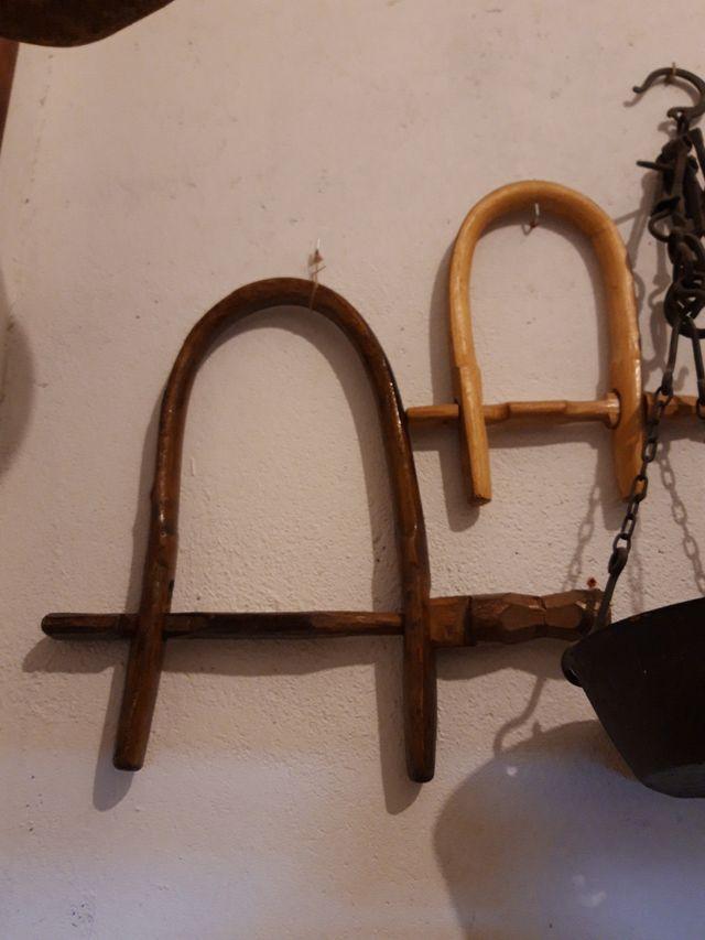 Cebillas de madera hechas a mano