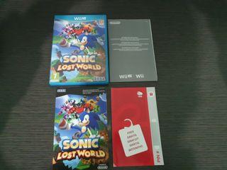 Sonic Lost world nintendo wii u