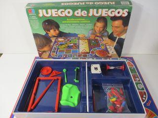 JUEGO DE JUEGOS DE MB ESPAÑA AÑOS 1980 BUEN ESTADO