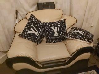 Italian Living Room Full Set - Including Pillows -