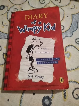 diary of a whimpy kid ( a novel in cartoons)