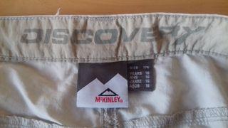 Pantalones anchos escalada deportiva McKinley