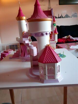 castillo princesas playmobil