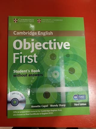 OBJETIVE FIRST STUDENT BOOK without AMSWERS