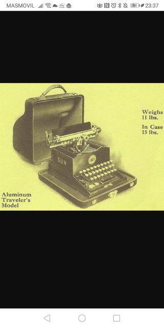 Máquina de escribir SUN