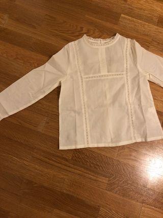 Camisa sin estrenar niña 7-8 años GOCCO