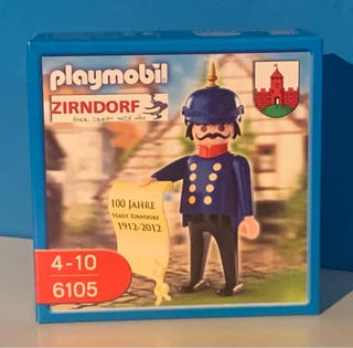 Playmobil Gendarme Victoriano ref 6105