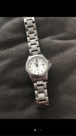 Reloj mujer de Quartz,niquelado MAREA