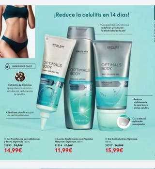 productos cosméticos de Oriflam