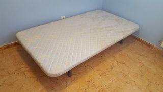 Somier tapizado 1,05 x 1,90 m