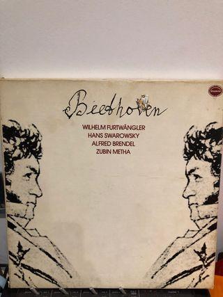 Set 5 discos de vinilo de Beethoven