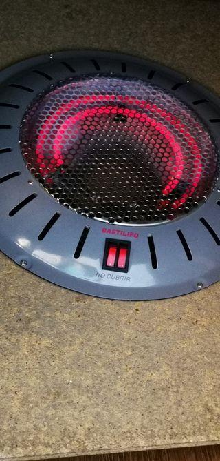 estufa brasero eléctrico 2 resistencias