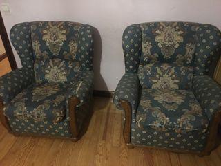 Sofa + 2 sillones