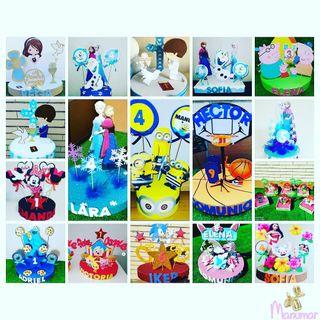 centros de mesa decoracion cumpleaños
