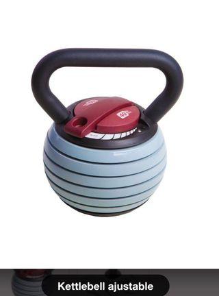 Kettlebell ajustable pesas