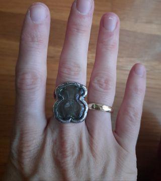 anillo duna murano tous