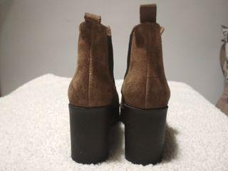 Botines de piel Brownie n° 37