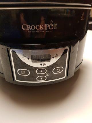 Crock Pot Olla de cocción lenta.