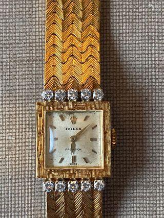 Rolex lady vintage oro macizo