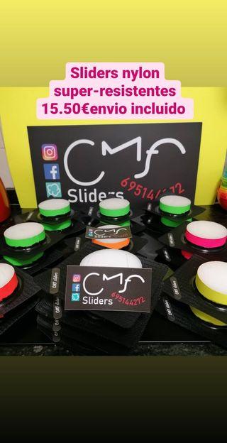 sliders super-resistentes nylon