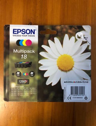Epson Multipack 18, 4 colores