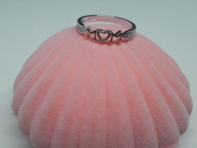 Mom Family Love Rose Gold Ring 925S.S