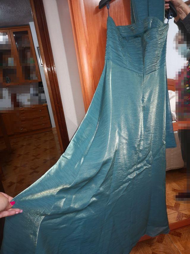 vestido de fiesta talla grande