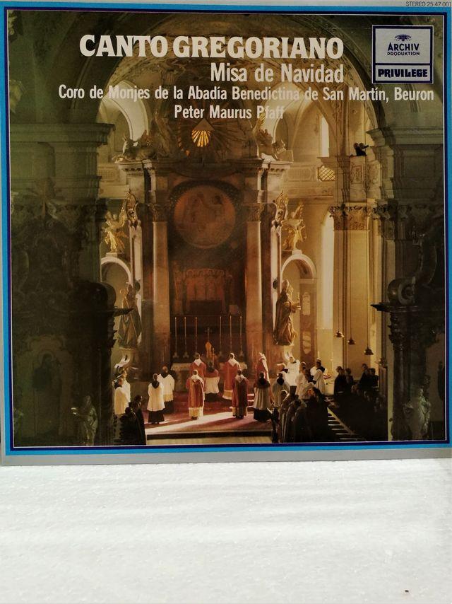 LP, Canto Gregoriano, Misa de Navidad 1981 NM/NM