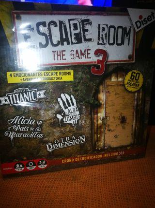 juego de mesa escape room the game 3