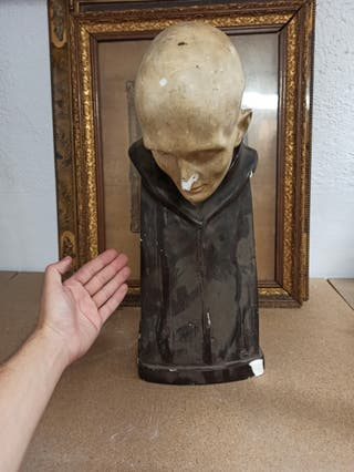 antigua gran escultura religiosa
