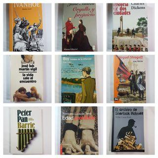 Novelas Tapa Blanda 5x15€