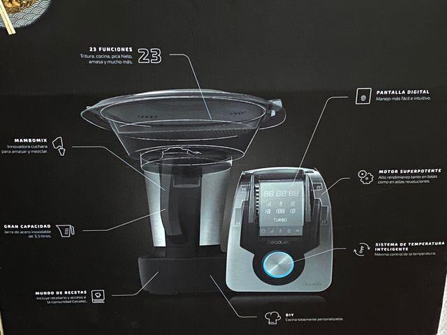 Robot de cocina cecotec mambo silver