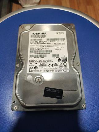 Disco duro SATA 500Mb