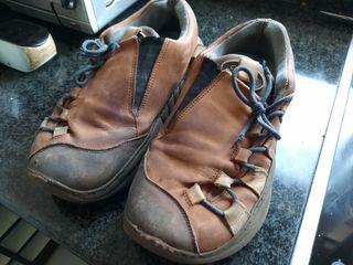 botas de piel swear talla 44