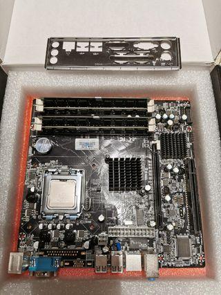 placa socket 775 y 771, con xeon E5450, y 8gb ram