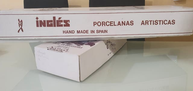 Muñeca Porcelanas Inglés