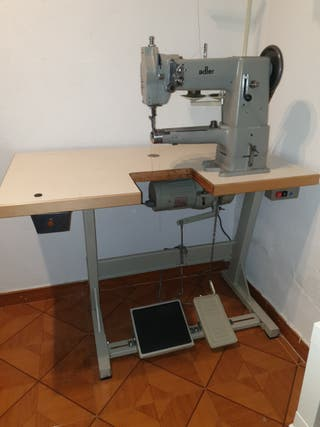 Maquina de coser industrial triple arrastre