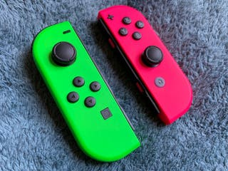 Mandos Joy con edición Splatoon 2 [Switch]