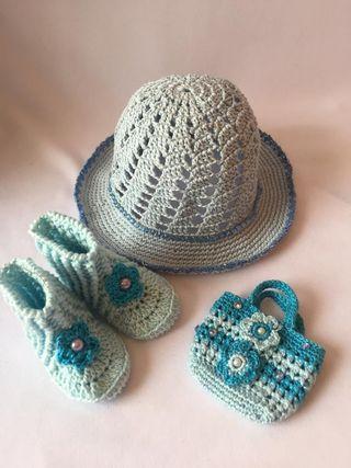 Nancy, conjunto crochet