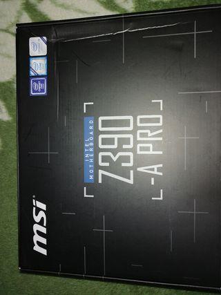 Se vende placa base MSI Z390-A PRO con I5 9600K