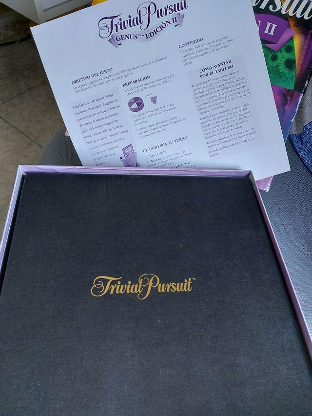 trivial pursuit genus edición II