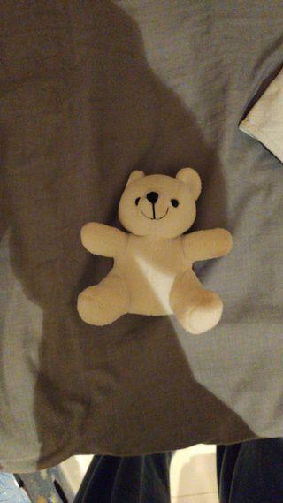 peluche oso pequeño