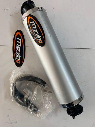 SILENCIOSO ECE PARA QUAD BAROSSA 150/170 y 250cc
