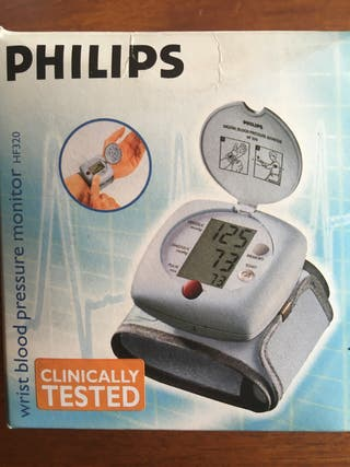 Tensiometro de muñeca Philips.