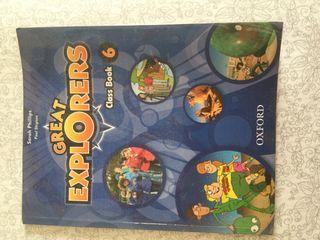 Libro inglés Oxford 6 primaria