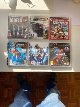 Juegos PS3 como nuevos