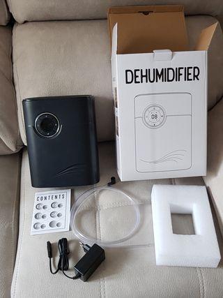 QUARED Portátil Deshumidificador 1200ML, 2 en 1 De