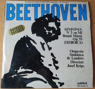 Disco de vinilo, Beethoven sinfonía N° 3 Heroica