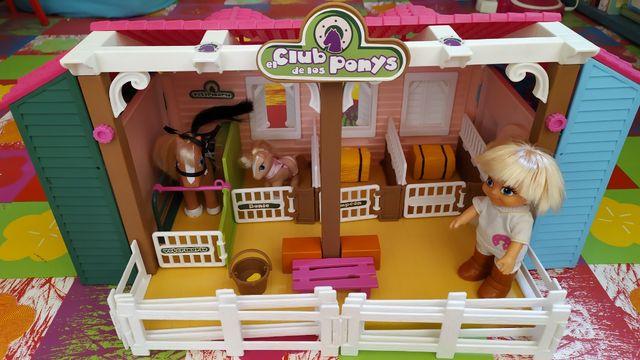 Club de los ponys - Barriguitas