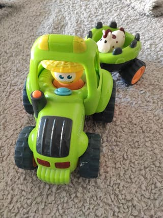 Tractor remolque y pony - Imaginarium